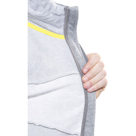 Peak Performance Structure Zip Hood Sweatshirt Men Grey melange